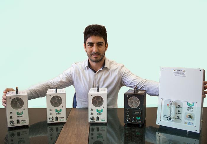 Neotrentino lança tecnologia inovadora através do plasma frio para tratamento de efluentes líquidos. Foto Divulgação